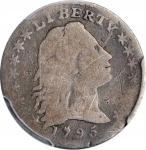1795 Flowing Hair Half Dime. LM-8. Rarity-3. Good Details--Scratch (PCGS).