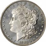 1882-O Morgan Silver Dollar. MS-65+ PL (PCGS).