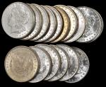 Lot of (256) 1888 Morgan Silver Dollars. Average MS-60 to MS-63.