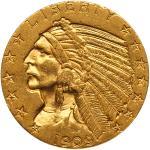 1909-D $5 Indian
