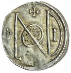 Wessex, Alfred the Great (871-899), Penny, London Monogram, type A8(v), 1.52g, 6h, AELFRE-D REX, dia