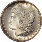 1882-S Morgan Silver Dollar. MS-68+ (NGC). CAC.