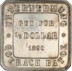 Netherlands East Indies token coinage (Indonesia), Goerach Batoe Unternehmung (Asahan, Sumatra), $1/