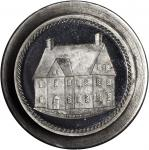 1881 Steel Dies for J.A. Bolens Pynchon House Token. Musante JAB-39. Nearly As Made.