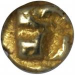 IONIA. Uncertain Mint. EL 1/24th Stater (0.61 gms), ca. 625-550 B.C.