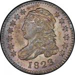 1823/2 Capped Bust Dime. John Reich-1. Rarity-3. Small Es. Mint State-65 (PCGS).