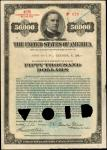United States of America. Act of September 24, 1917, as amended April 21, 1919. 1$50,000 4-3/4% Regi