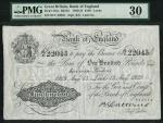 Bank of England, Basil Gage Catterns (1929-1934), 」100, Leeds 13 August 1929, serial number 65/Y 220