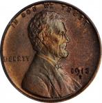 1913-D Lincoln Cent. MS-66 RB (PCGS).