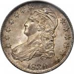 1830 Capped Bust Half Dollar. O-101. Rarity-1. Small 0. MS-66 (PCGS). CAC.