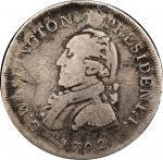 1792 Pattern Washington Half Dollar by Peter Getz. Musante GW-22, Baker-24B. Silver. Twinned Leaf Ed
