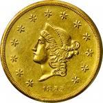 1855沃斯莫利托公司50美元金币 PCGS AU 55