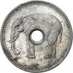 CONGO IIIe République (1870-1940). Monnaie de nécessité à léléphant 1925, Poissy.