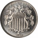 1882 Shield Nickel. Proof-68 (NGC).