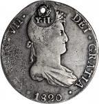 PHILIPPINES. 8 Reales, ND (Decree of December 20, 1834, Suppressed March 31, 1837 (By Decree of Febr