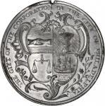 1756 City of Philadelphia Kittanning Destroyed Medal. White Metal. 43.5 mm. Betts-400, Julian MI-33