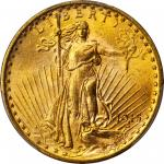 1915-S Saint-Gaudens Double Eagle. MS-66 (PCGS).