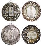 民国初年云南督军唐继尧颁银质奖章二枚 优美