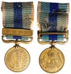 1906年日俄战争纪念铜章,保存完好
