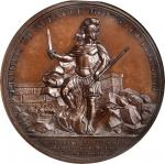 1779 DeFleury at Stony Point Medal. Bronze. 46 mm.Betts-566, Julian MI-4. MS-65BN (NGC).