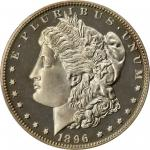 1896 Morgan Silver Dollar. Proof-67 Deep Cameo (PCGS).