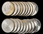 Lot of (283) 1881-S Morgan Silver Dollars. Average MS-60 to MS-63.