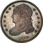 1833 Capped Bust Dime. John Reich-2. Rarity-8 as a Proof. Proof-66 (PCGS).
