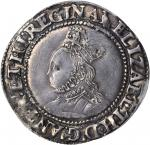 GREAT BRITAIN. Shilling, ND (1582-83). Elizabeth I (1558-1603). PCGS EF-45 Secure Holder.
