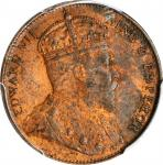 CEYLON. Cent, 1910. London Mint. PCGS MS-63 Red Brown Gold Shield.