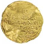 GHORID: Mu izz al-Din Muhammad, 1171-1206, AV dinar (2.35g) (Ghazna), AH5xx, A-1759, fine gold, also