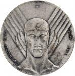 1930 National Air Races Medal by Oskar J.W. Hansen. Silvered Bronze. MS-63. (NGC).