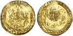 Edward VI (1547-53), Posthumous coinage in the name of Henry VIII, Tower I, Half-sovereign, 5.89g, m