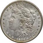 1904-O Morgan Silver Dollar. MS-64 (PCGS). OGH--First Generation.