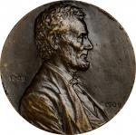 1909 Lincoln Centennial Preserve, Protect, Defend Medal. Bronze. 62.4 mm. By Victor David Brenner. C