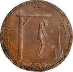 Great Britain--Middlesex. Undated (ca. 1790) End of Pain Halfpenny Token. D&H-829a, W-8986. Copper.
