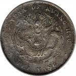北洋造光绪34年七钱二分开云 PCGS AU Details CHINA. Chihli (Pei Yang). 7 Mace 2 Candareens (Dollar), Year 34 (1908