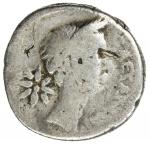 ROMAN IMPERATORIAL PERIOD: Julius Caesar, as dictator, 49-44 BC, AR denarius (3.88g), Rome, January-