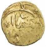 GREAT MONGOLS: Möngke, 1251-1260, AV dinar (3.41g), [Marw], ND, A-V1977, with mangu qa an at the top