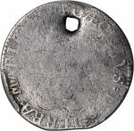 Undated (C. 1659) Lord Baltimore Shilling. Hodder 1-A, W-1080. Large Bust, MARIAE. Good Details--Hol