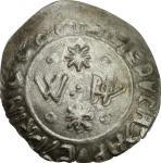 Monete e Medaglie di Zecche Italiane, Palermo.  Gugliemo II (1166-1189). Apuliense. Sp. 110. Travain