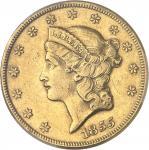 USA République fédérale des États-Unis d'Amérique (1776-à nos jours). 20 dollars Liberty, sans devis