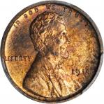 1914 Lincoln Cent. Proof-64 RB (PCGS).