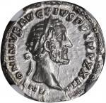 ANTONINUS PIUS, A.D. 138-161. AR Denarius (3.29 gms), Rome Mint, ca. A.D. 160-161.