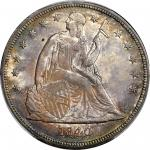 1840 Liberty Seated Silver Dollar. MS-62+ (PCGS).