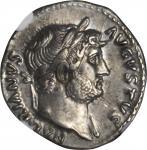 HADRIAN, A.D. 117-138. AR Denarius (3.50 gms), Rome Mint, ca. A.D. 125-128.