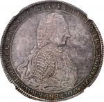GERMANY. Stolberg-Wernigerode. Taler, 1760-IBH. Christian Ernst I (1710-71). NGC MS-64.