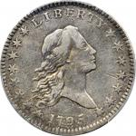 1795/1795 Flowing Hair Half Dollar. O-111, T-19. Rarity-4+. Three Leaves. VF-30 (PCGS).