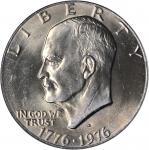 1976-D Eisenhower Dollar. Type II Reverse. MS-67 (PCGS). Secure Holder.