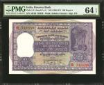 INDIA. Reserve Bank of India. 100 Rupees, ND (1962-67). P-45. Consecutive. PMG Choice Uncirculated 6