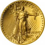 MCMVII (1907) Saint-Gaudens Double Eagle. High Relief. Wire Rim. MS-65 (PCGS). OGH.